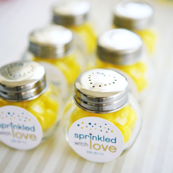 """Sprinkled with Love: A Modern Baby Shower- If I ever have to throw a """"sprinkle""""  for someone, I will be copying all of these things!"""