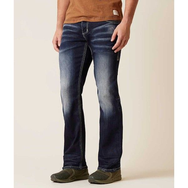 American Fighter Legend Stretch Jean - Blue 28/32 ($95) ❤ liked on Polyvore featuring men's fashion, men's clothing, men's jeans, blue, mens low rise slim fit bootcut jeans, mens straight jeans, mens stretch jeans, mens low rise stretch jeans and mens low rise straight leg jeans #mensjeansbootcut
