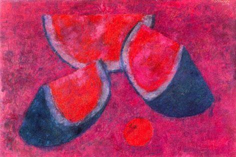 Rufino Tamayo Sandias Rufino tamayo, sand�as, 1973,