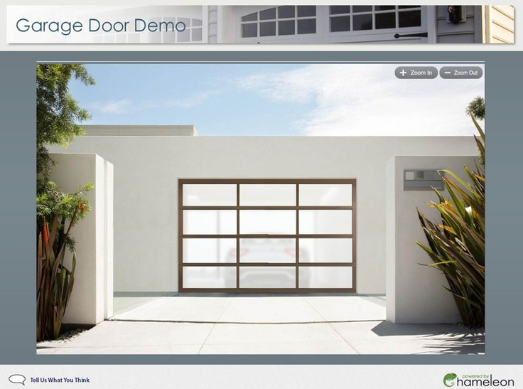 Visualize a new garage with frosted glass beautiful for Opaque garage door