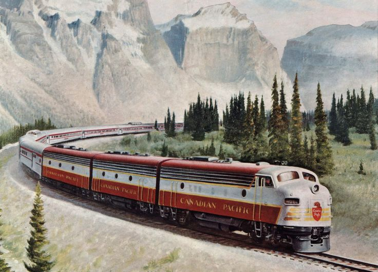 The Canadian Pacific Railway is one of North America's oldest Class Is still in operation.  Like rival CN it services much of its home country as well as sections of the U.S. through mergers.