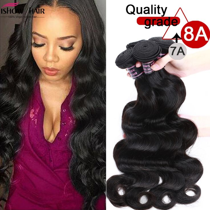 8A Unprocessed Peruvian Body Wave 4 Bundles Virgin Hair Cheap Peruvian Virgin Hair Body Wave 4Pcs/Lot Weave Human Hair Extension -- Read more at the image link.