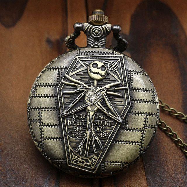 Nightmare Before Christmas Pocket Watch
