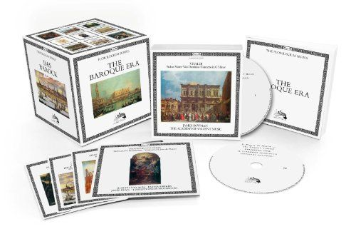 L'Oiseau-Lyre – The Baroque Era [50 CD][Limited Edition]   L'Oiseau-Lyre - The Baroque Era [50 CD][Limited Edition] A 50 CD Original Jackets Collection celebrating the greatest Baroque recordings from Decca s pioneering early music label L Oiseau-Lyre. Key Baroque works featured include best-selling albums such as Vivaldis Four Seasons, Handels Messiah and Bachs Brandenburg Concertos. Beyond that, a wide array of composers offer a fascinating historical and geographic tour of the era..
