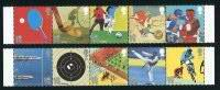 2012 Summer Olympics & Paralympics Two Mint Strips of 5 Great Britain, 2010
