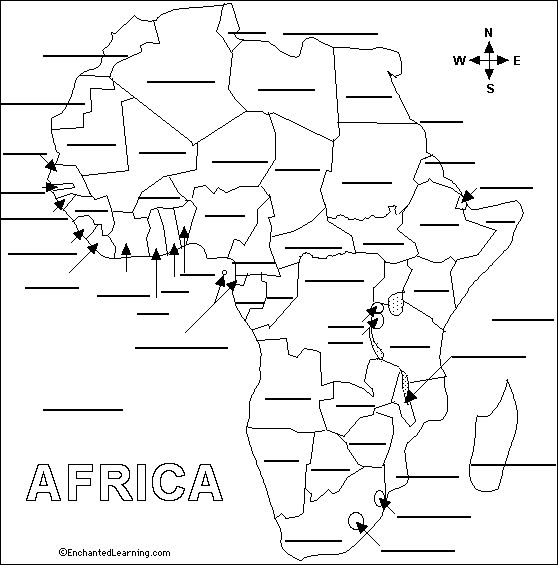 Best African Countries Quiz Ideas On Pinterest Africa Quiz - Map labeling game
