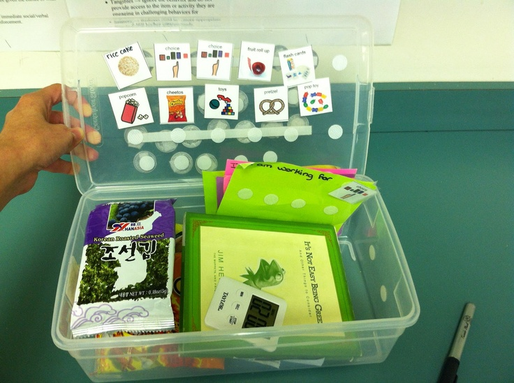 token system - all the stuff is right here in the box. Neat idea!