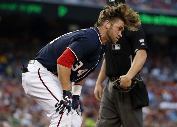 Hair Flip Phenom Bryce Harpers Crazy Month Of May Meaning