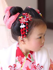 "Shichi-Go-San (""Seven-Five-Three"") is a traditional rite of passage and festival day in Japan for three- and seven-year-old girls and three- and five-year-old boys, held annually on Nov. 15 to celebrate the growth and well-being of children."