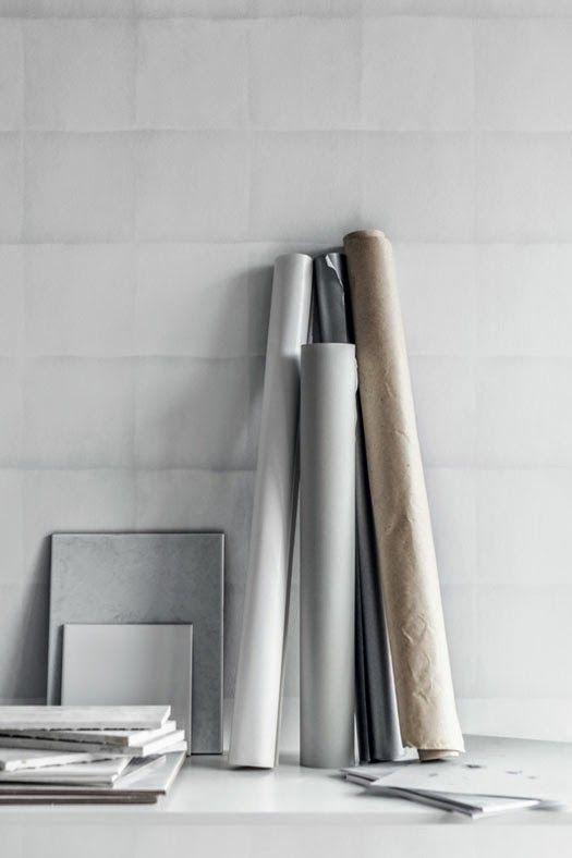 Tapettimallisto Eco Whte Light. www.k-rauta.fi  Wallpaper collection Eco White Light.