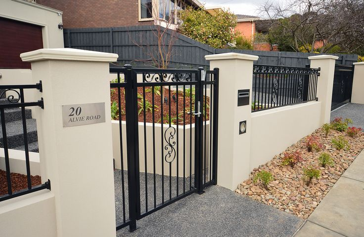 Auto Gate Cavity Wall | by by Supreme Green Landscaping