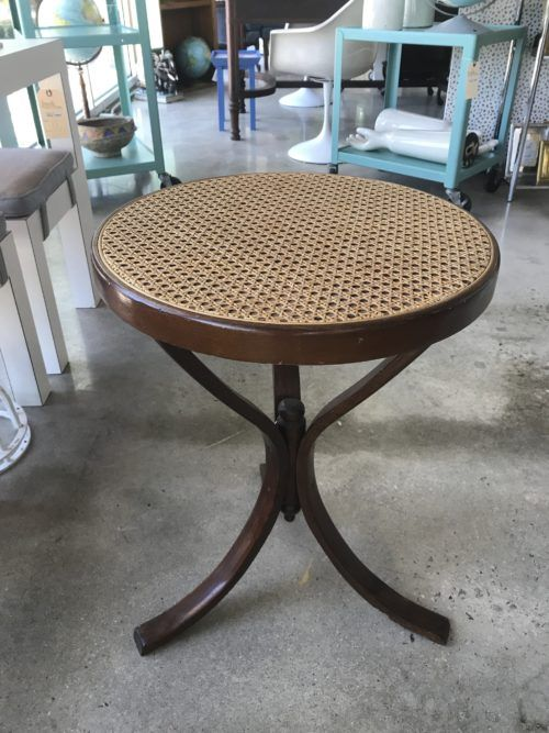 cane top side table interiors in 2019 table furniture outdoor rh pinterest ca