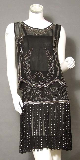 Project d black dress 1920s