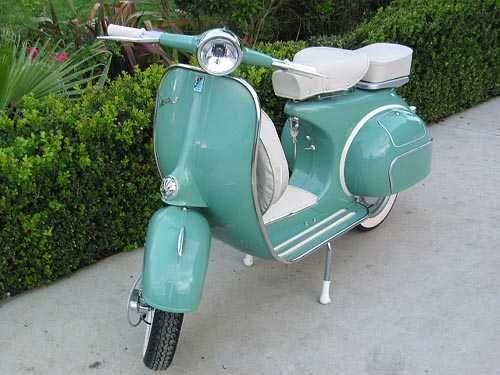 1966 Restored Italian Vespa 150cc