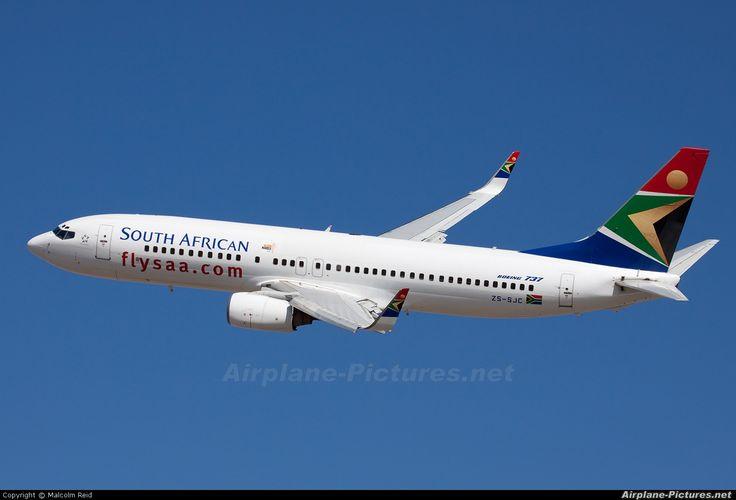 ZS-SJC South African Airways Boeing 737-800