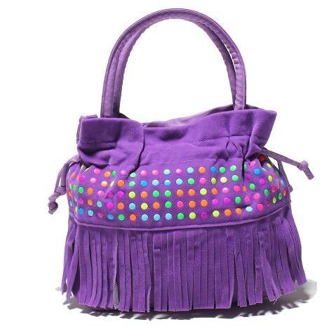 Children Fashion Tassel Bags Girl Mini Handbag Kids Message Crossbody Bag Purse Women/Ladies Perfume Bottle Mini Bag Hot Sale