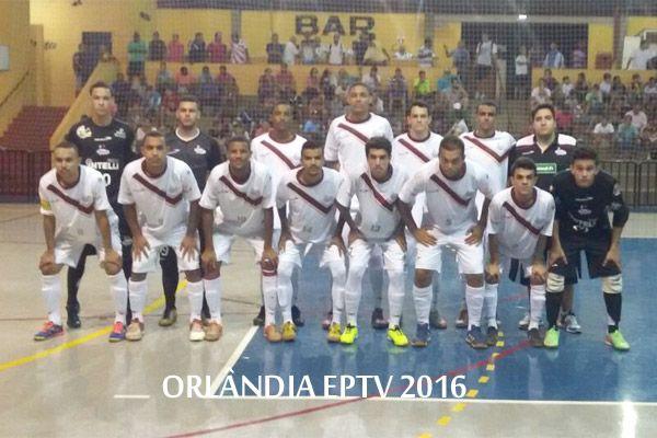 HOJE: Orlândia enfrenta jardinópolis pela Taça EPTV de Futsal