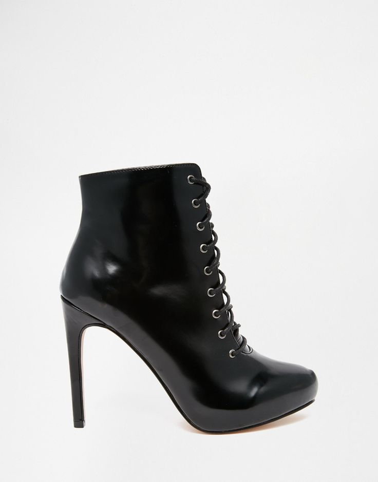 Image 2 of ASOS EARLY DAYS Lace Up Ankle Boots
