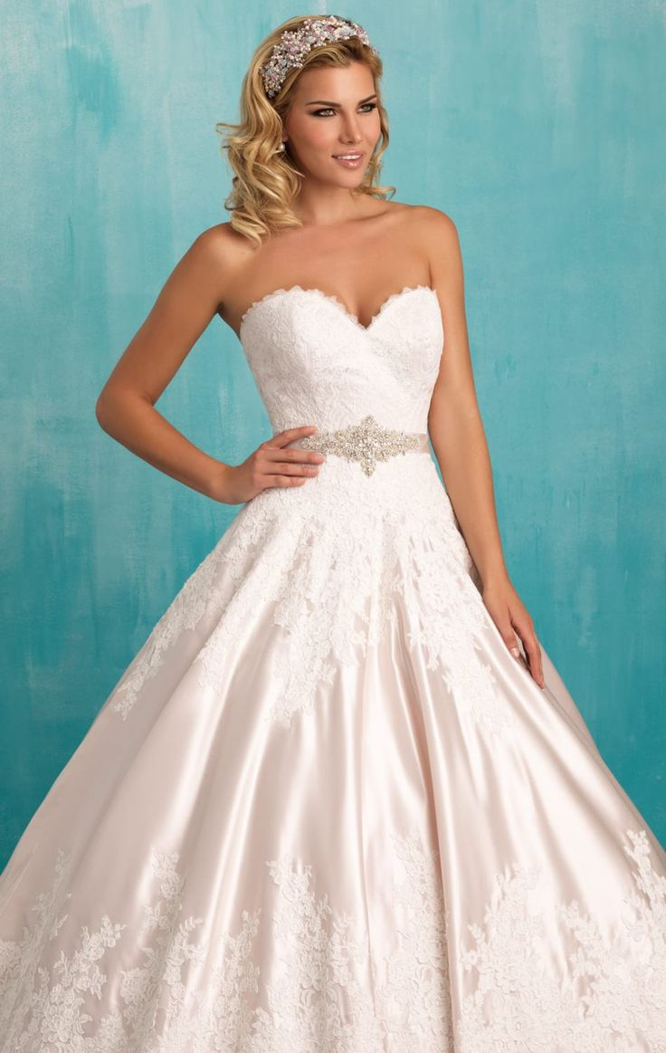 45 best wedding gowns images on Pinterest | The bride, Wedding ...