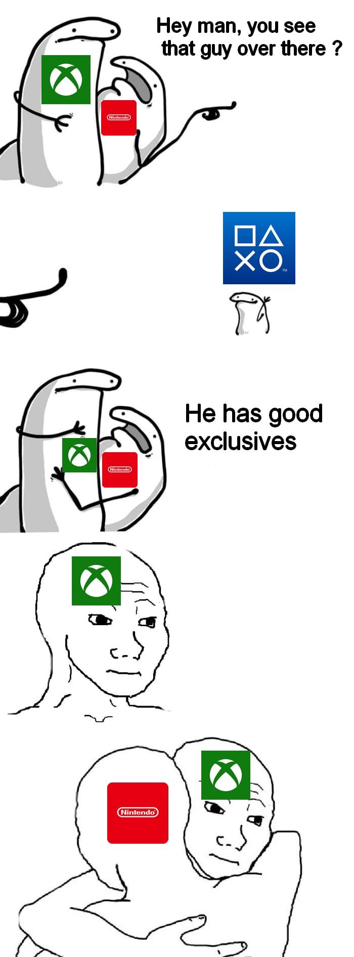 i convinced my brother to buy ps4 just for the exclusives