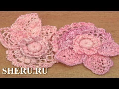Freeform Crochet Scrumble Patterns Урок 3 часть 1 из 2 Как вязать скрамбли - YouTube