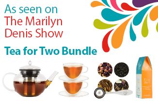 The Tea For Two Bundle - $110.00 - 19107  http://www.steepedtea.com/steeped-tea-featured-on-the-marilyn-denis-show/  Ask your consultant about the Tea for Two Bundle today!