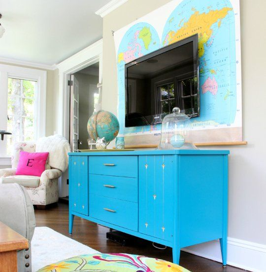 The TV Room: Great Examples from This Year's Entries — Room for Color 2013
