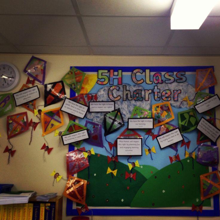 Classroom Ideas Ks2 ~ Class charter kites ideas pinterest