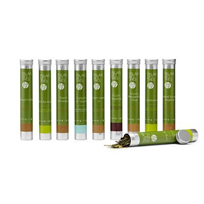 Paula's Gift!   Look what I found at UncommonGoods: tea from around the world set... for $55 #uncommongoods