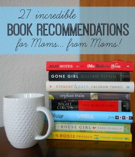 What an awesome list of book recommendations for moms! #4 was one of my favorites can't wait to read #20