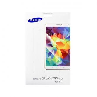 """Folia ochronna do tabletu Samsung Galaxy Tab S 8,4"""". Folia skutecznie ochroni ekran urządzenia przed zadrapaniami i zarysowaniami, jednocześnie nie pogarszając widoczności ekranu. Folia jest bardzo łatwa do założenia, w zestawie znajdują się wszystkie potrzebne akcesoria."""