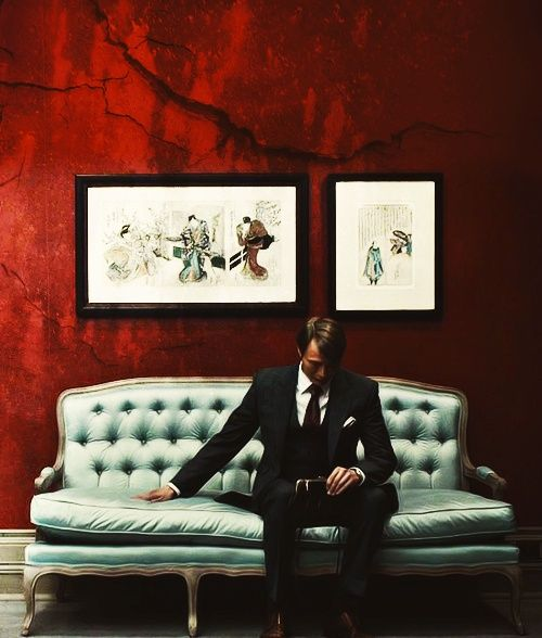 Mads Mikkelsen as Dr. Hannibal Lecter in Hannibal (2013-).