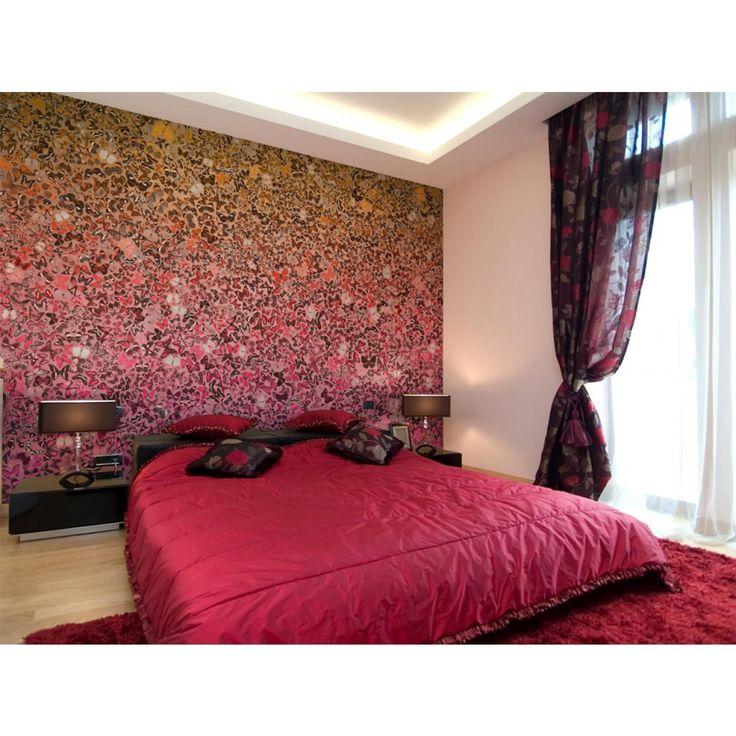 Fotomurale Linguaggio delle farfalle #fotomurali #fotomurale #design #decorazione #d'interni #carta #da #parati