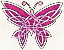 Celtic Butterfly Tattoo Designs For Girls Picture 2