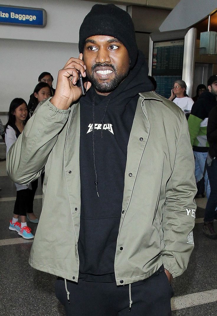 Kanye West Previews New Fashions From His Yeezy Collection