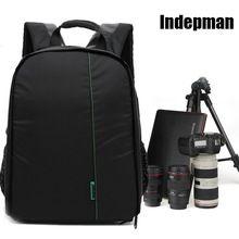 Indepman новое стиль водонепроницаемая камера Ykk молнии открытый цифровой рюкзак видео фото сумки для камеры бесплатная доставка(China (Mainland))