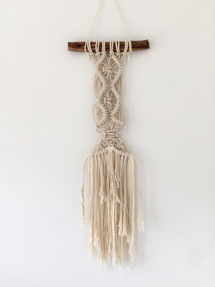Macrame wall hanging by Swaysmade on Etsy https://www.etsy.com/au/listing/467650928/macrame-wall-hanging