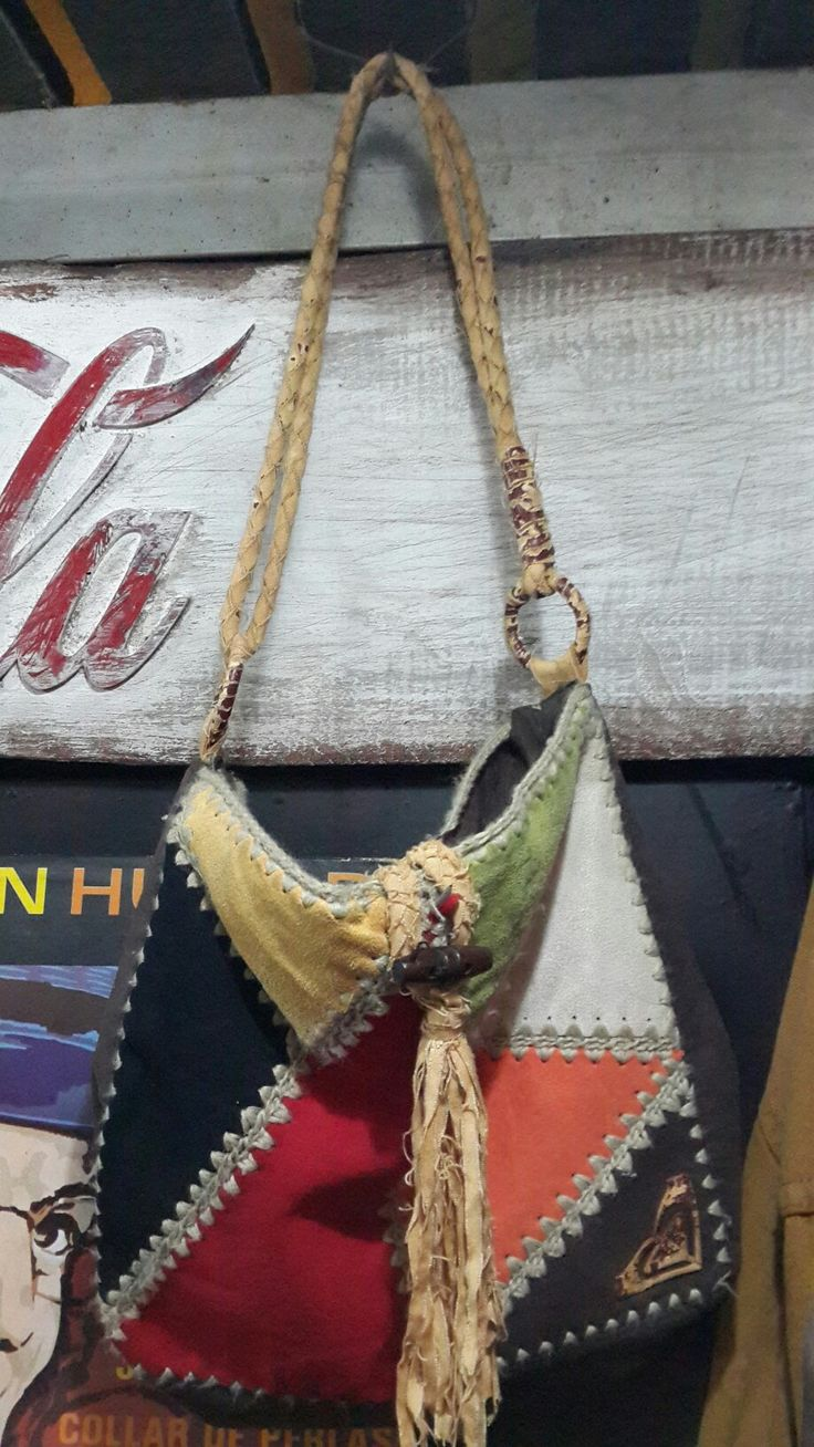 ''Hippie'' style bag. SOLD