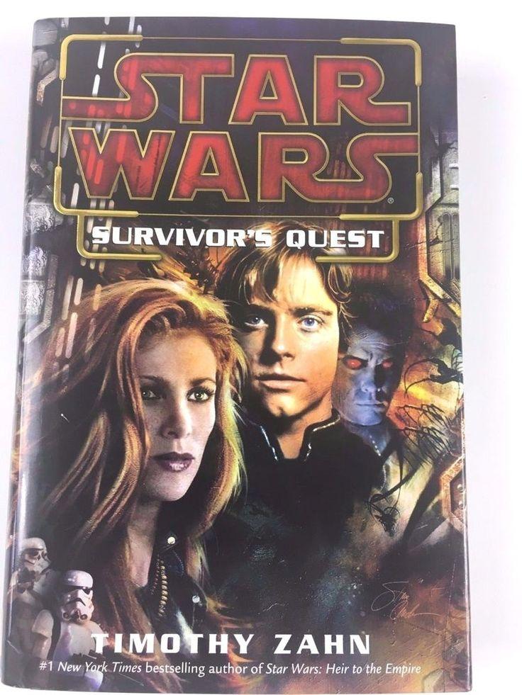 Rare 1st Edition Star Wars: Survivor's Quest by Timothy Zahn 2004 Hardcover