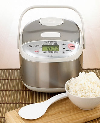 Zojirushi Electric Rice Food Cooker Cooked Steamer NS YMH18 220 230V 1 8L 10Cup