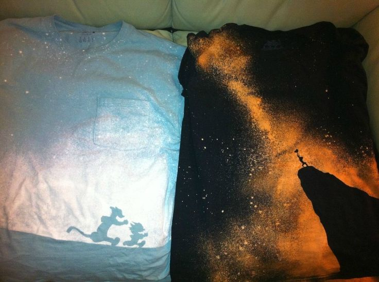 1000 images about disney on pinterest disney mickey for How to bleach designs into shirts