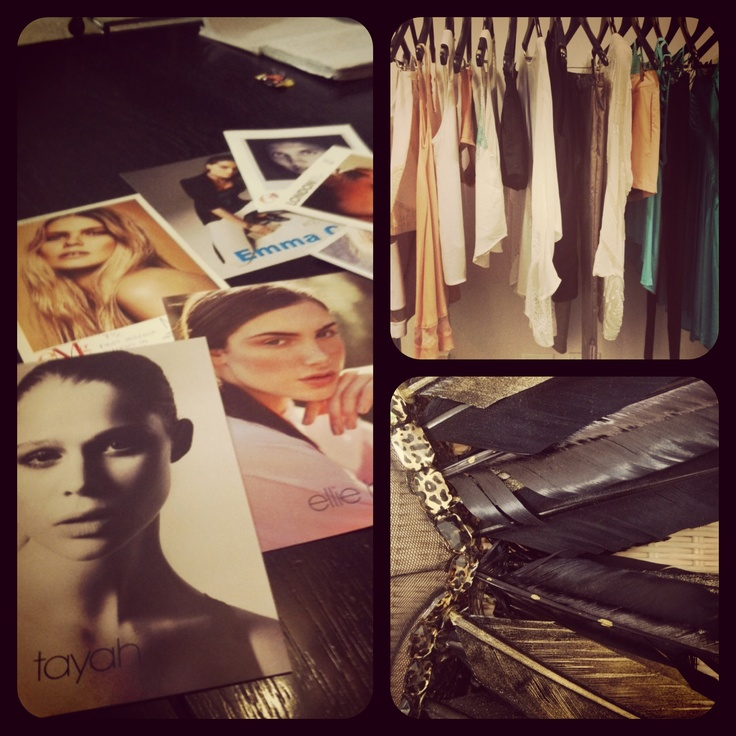 @mercedesbenzfashionweek Australia preparation – refining the details for the show xx
