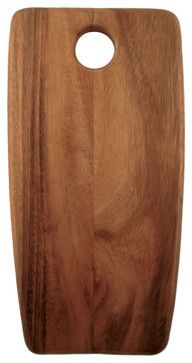 Acacia Rectangular Board, Small - eclectic - knives and chopping boards - Be Home