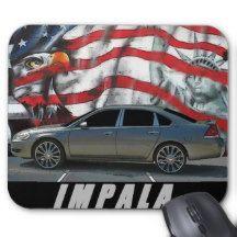 2007 Impala Mouse Pad