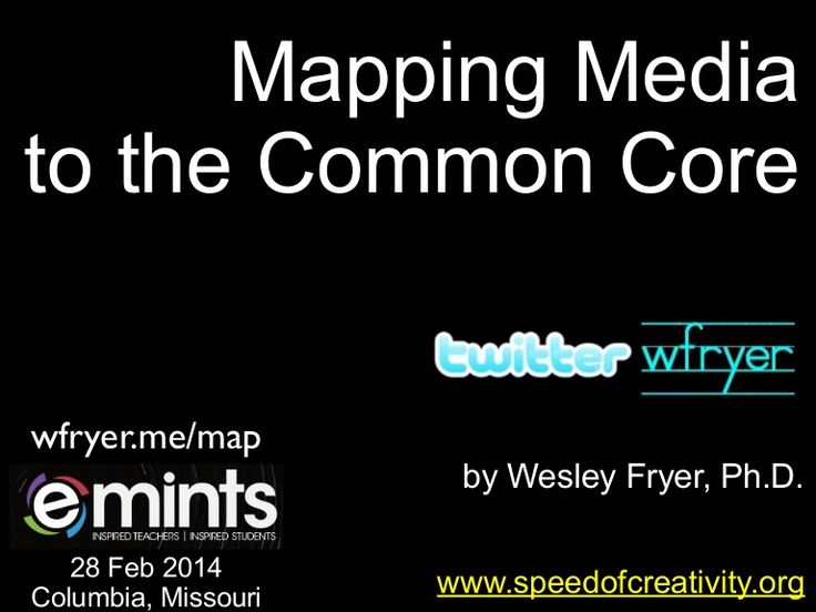 mapping media to the common core  feb 2014  by wesley