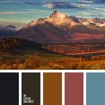 """пыльно"""" зеленый, """"пыльный"""" коричневый, бледно-голубой, болотный, бордовый, голубой, зеленоватый цвет, контрастное сочетание теплых и холодных тонов, коричневый, коричневый и черный, оттенки коричневого, оттенки оранжевого и коричневого,"""