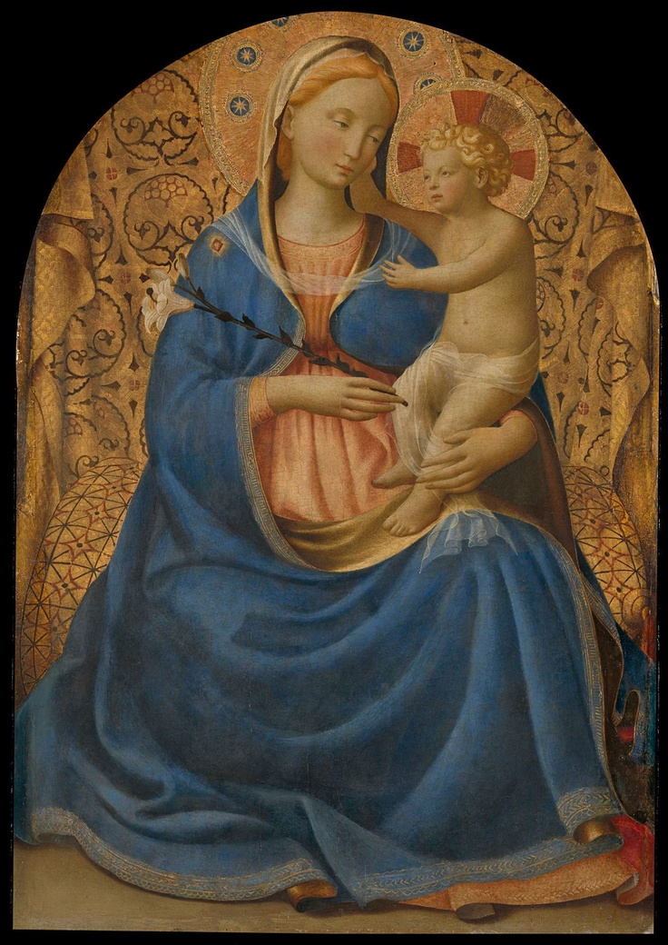 Only 7 more nights... until you can view this Madonna of Humility. And if this doesn't move you enough, you should also know that it was painted by Fra Angelico, aka the Angelic Friar.