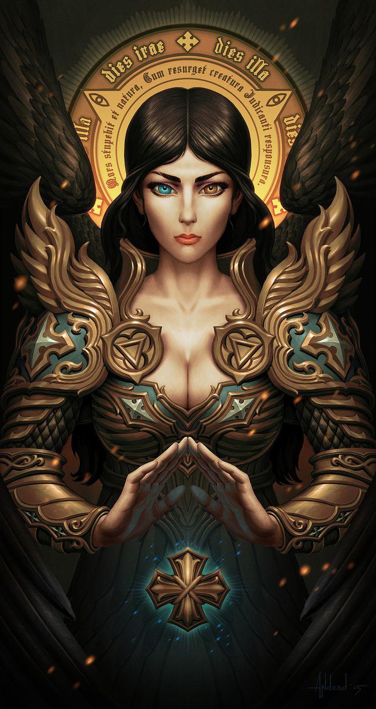 Seraphim, Andrey Maximov on ArtStation at https://www.artstation.com/artwork/411dl