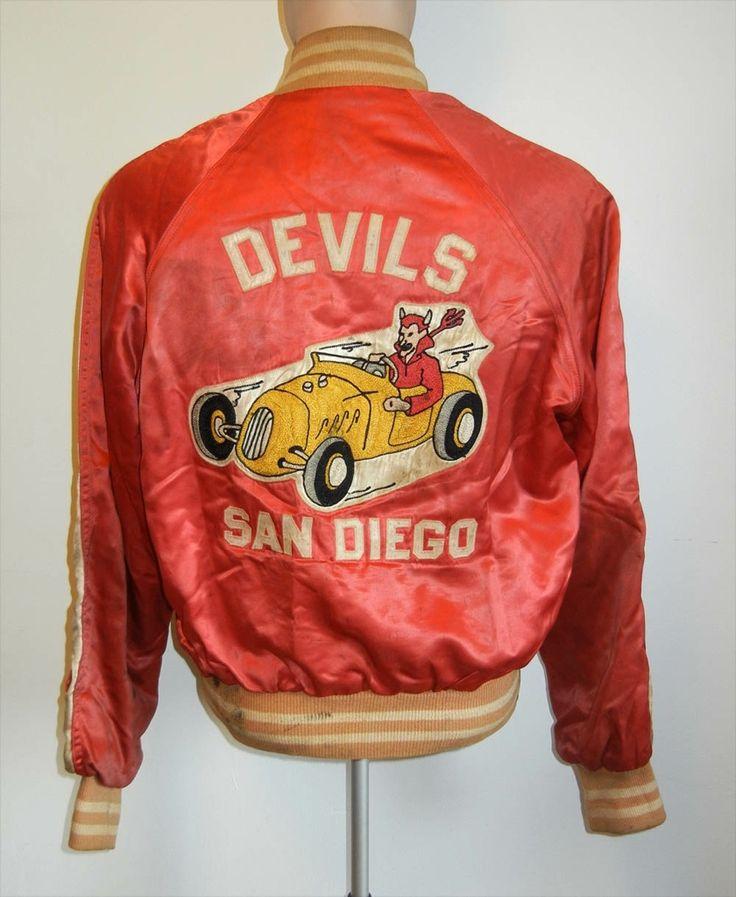 Vintage 1950's Devil Car Club Jacket