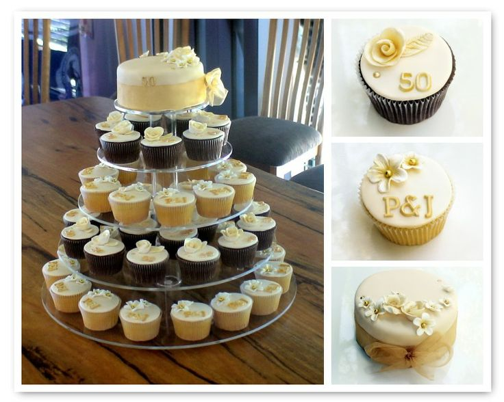 cupcakes wedding cakes perth sugarbloom cupcakes perth wa 50th golden wedding 13149